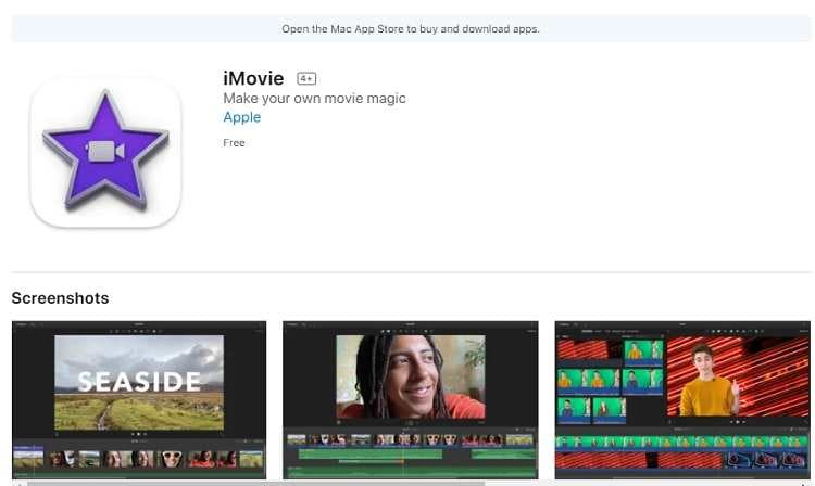 Edit MP4 in iMovie