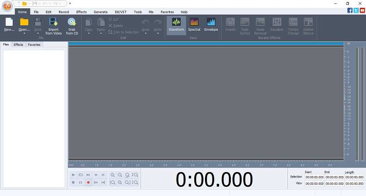 Edit M4A with AVS Audio Editor