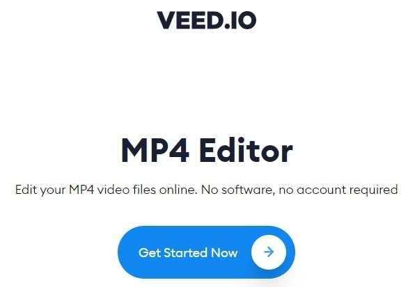 Veed MP4 Editor