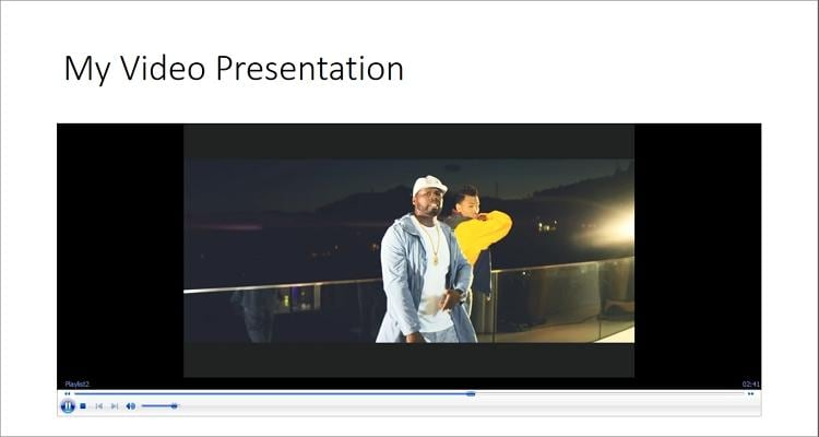 speed up video in powerpoint