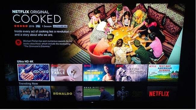 4k movie sites - Netflix