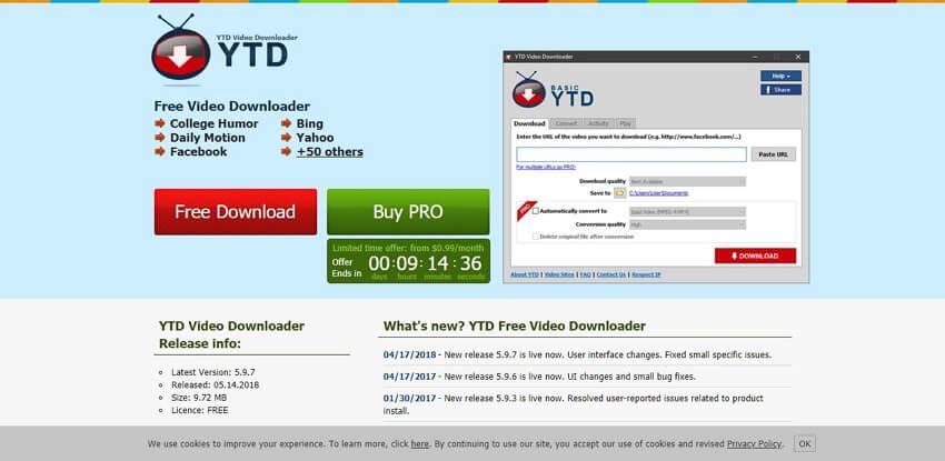 4k video downloader - YTD