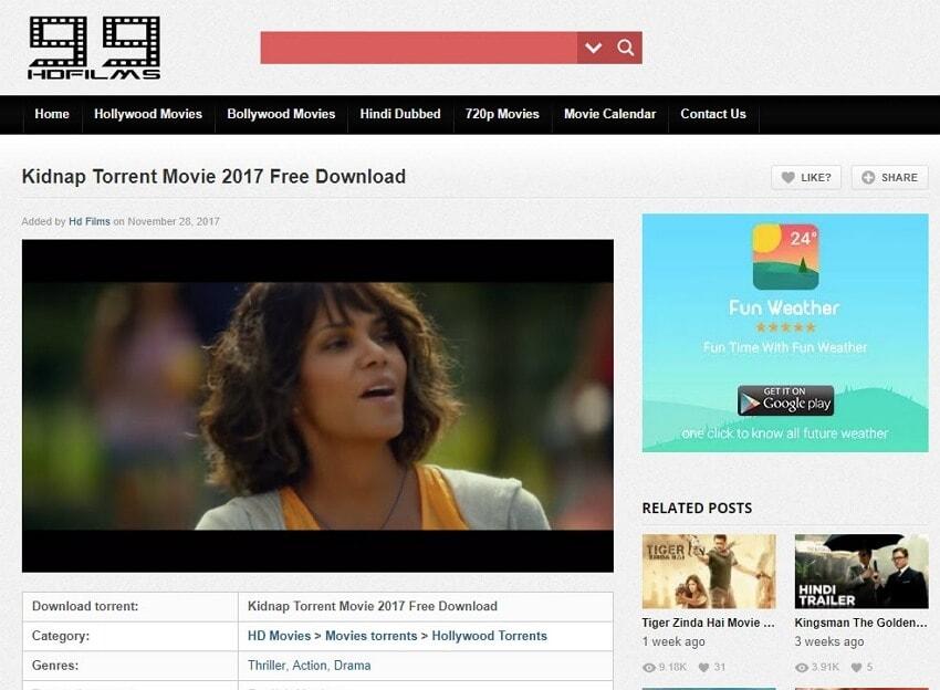 Hindi Film Seiten - 99HDFilms