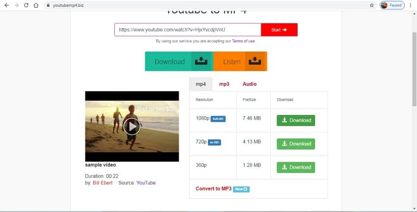 youtube to mp4 hd converter - YouTube MP4