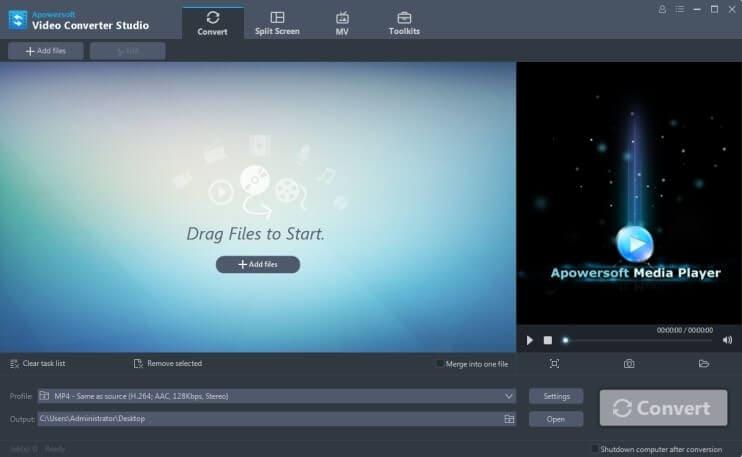 Apowersoft Video Converter