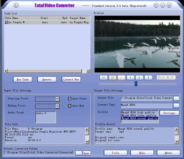 Effectmatrix Total Video Converter