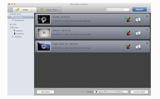 free avchd converter mac - Any DVD Converter for Mac