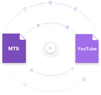 upload mts to youtube
