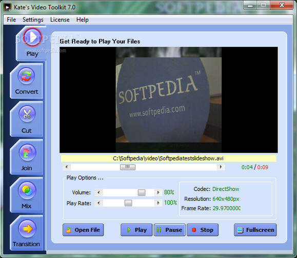Cut AVI Files - Kate's Video Toolkit