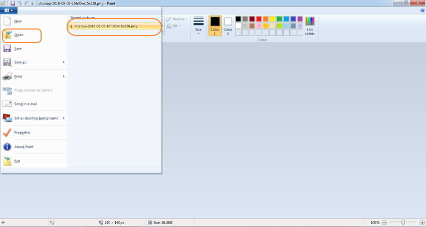 Konvertieren von Videos zu GIF mit VLC
