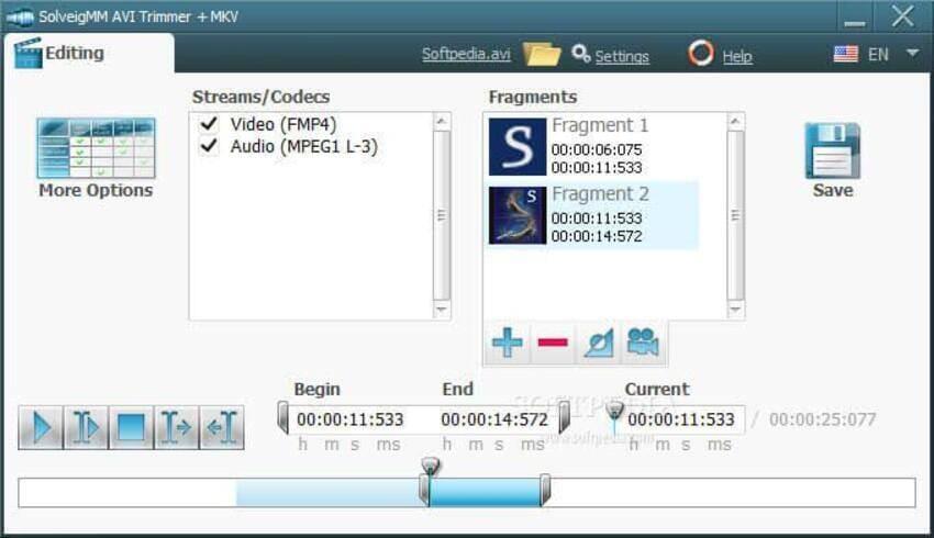 Cut AVI Files - AVI Trimmer + MKV 2