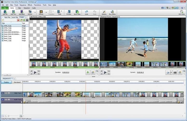 Cut AVI Files - VideoPad Vidoe Editor