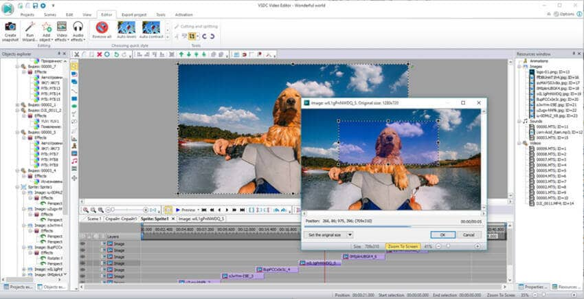 Cut AVI Files - Flash-Integro VSDC Free Video Editor