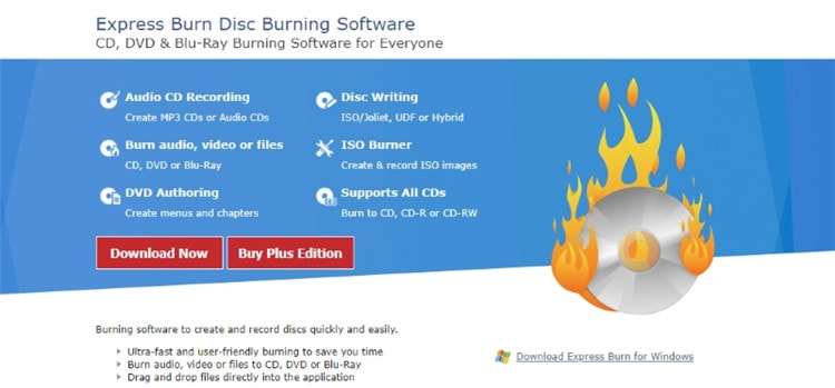 NTI Dragon Burn audio cd burning software