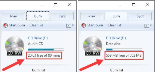 burn cd mp3 for car