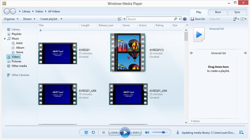 M4A auf CD brennen mit Windows Media Player - Schritt 1