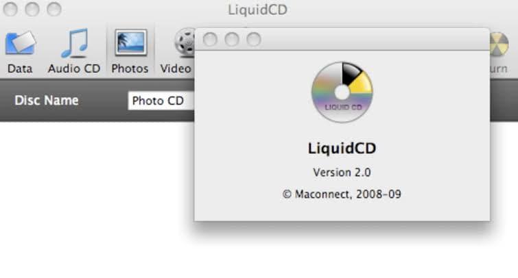 CD Brennsoftware auf Mac starten