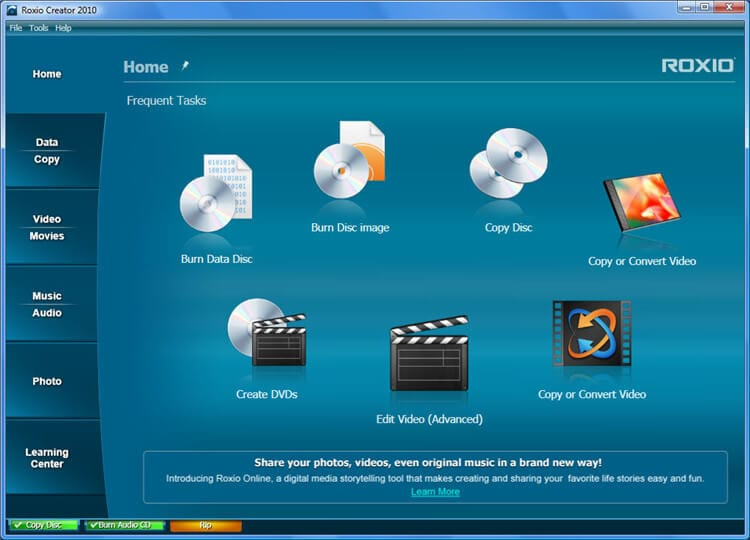 cd dvd burner software for windows 7