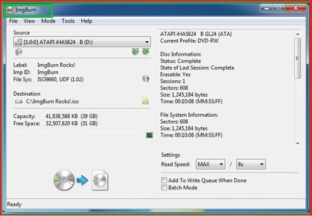 burn cd with free software