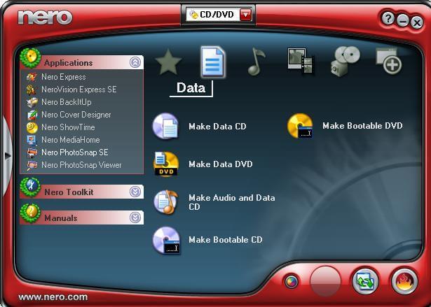 disk burner windows 7