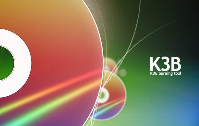 linux cd burner with K3b