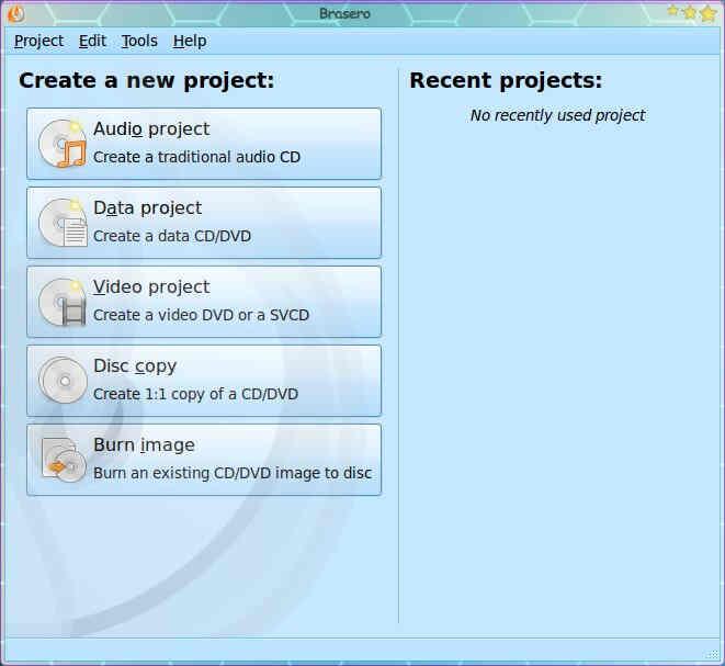 create an audio cd