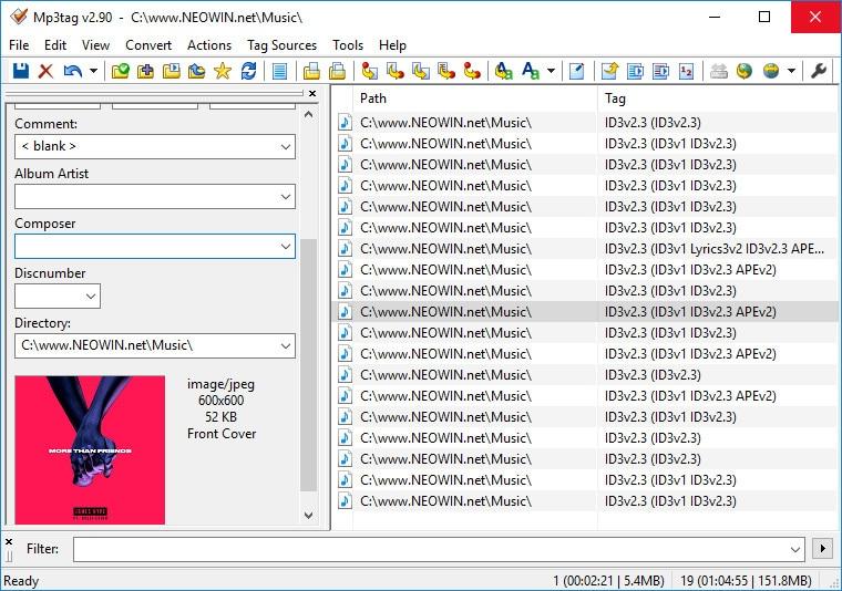 edit music file metadata