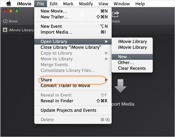 How to Compress A Video on Mac for Email via iMovie