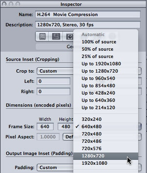 compress video with Apple Compressor 4 - 4