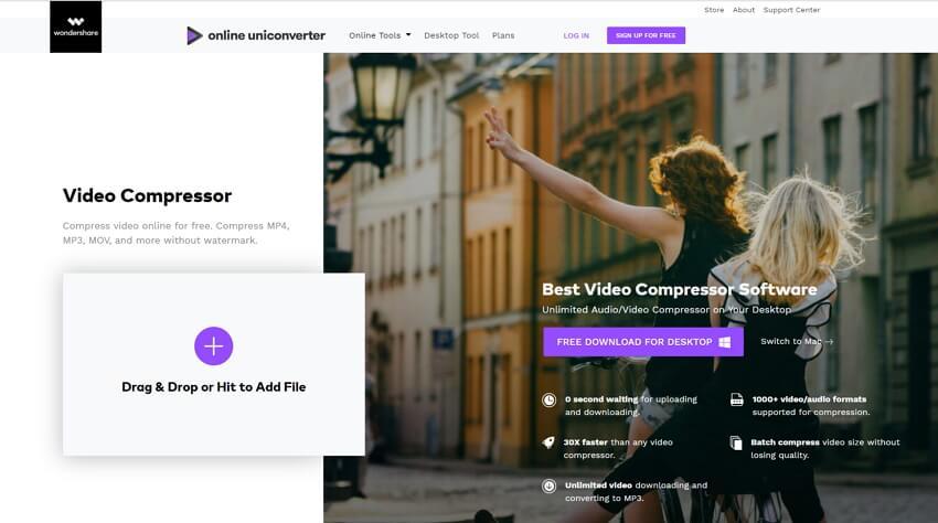 Make MP4 Files Smaller online free