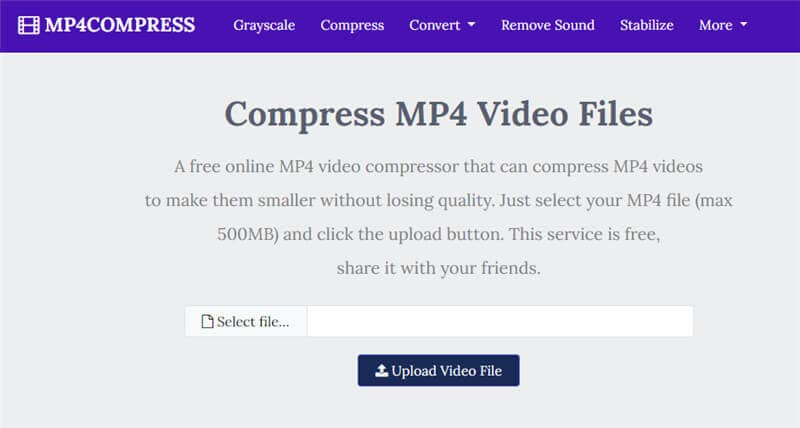 Mp4Compress Makes MP4 Files Smaller