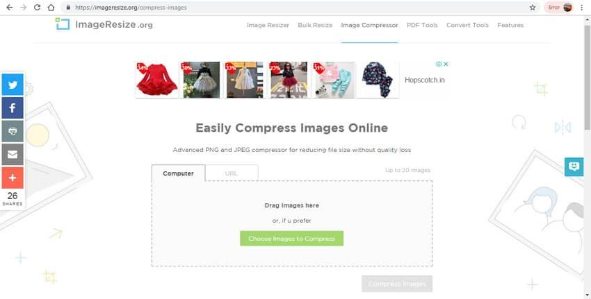 shrink image file size - ImageResize