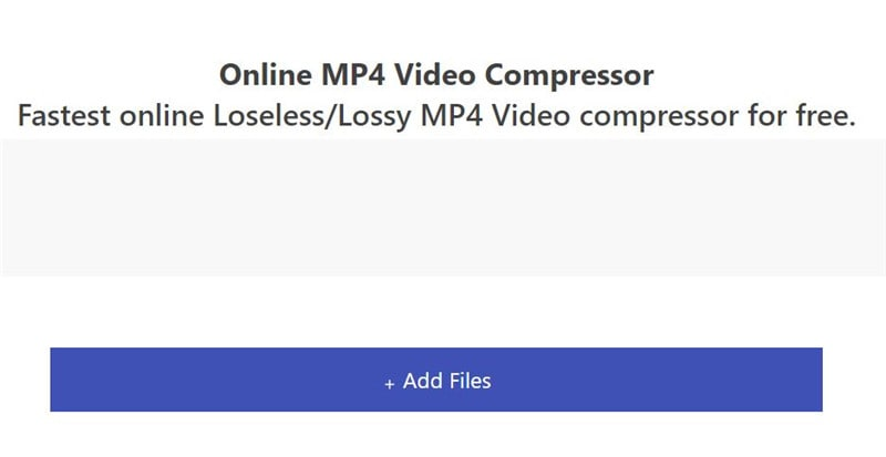 Make MP4 Files Smaller