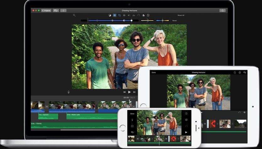short videos on iPhone - iMovie