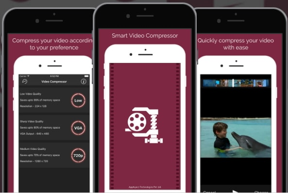 video compressor app for iPhone - 2