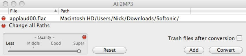 free flac converters Mac - All2MP3