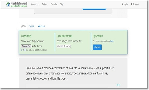 convert AC3 to WAV online by FreeFileConvert