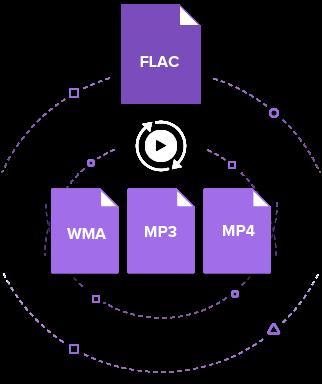 convert FLAC to WMA