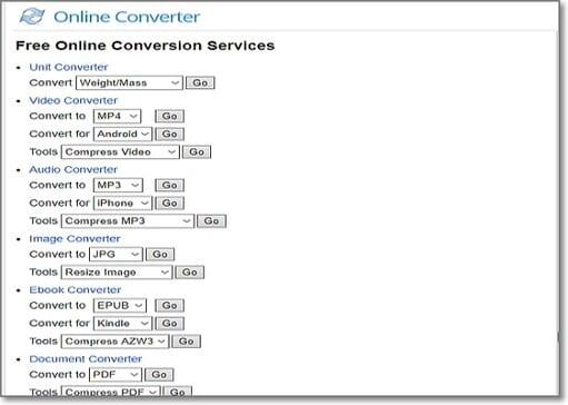 convert WMV to MP3 by Online Converter