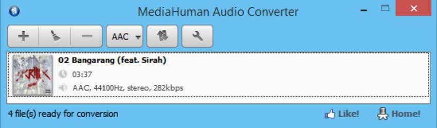 free flac converters Mac - MediaHuman Audio Converter