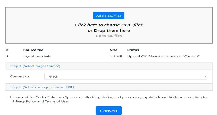 convert HEIC to JPEG online-Heic.Online