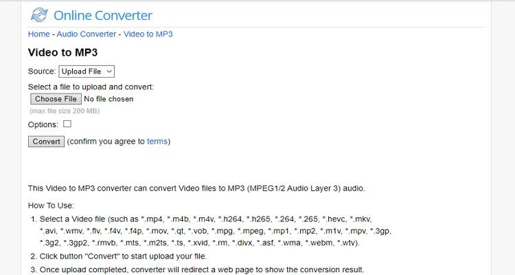 AVI and MP4 Free Converter - Online Converter