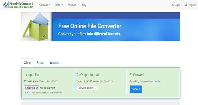 Convert MPEG and MP4 Free Online -FreeFileConvert
