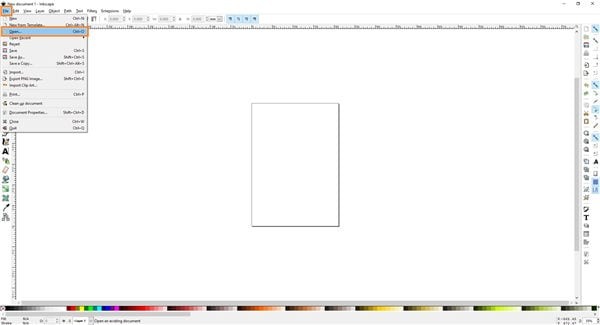 open the pic in Inkscape