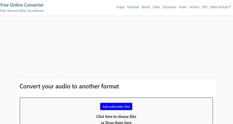 Convert Stereo to Mono Free-Free Online Converter