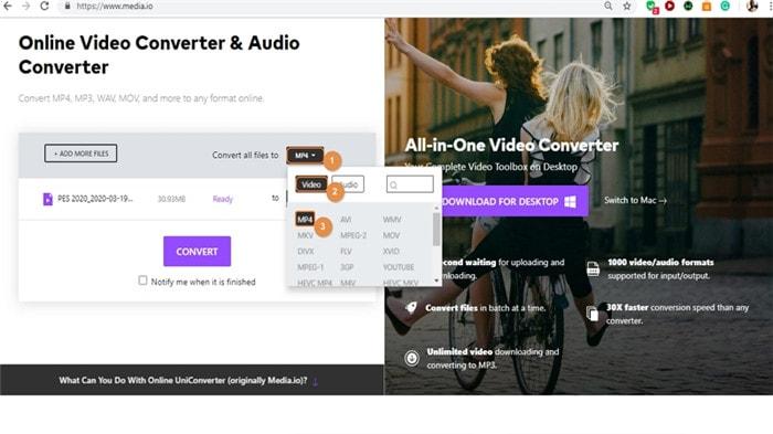 convert videos for igtv