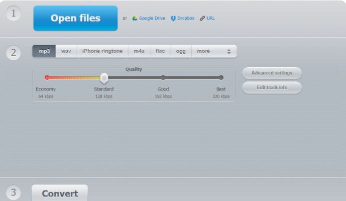 convert mp3 to wav online