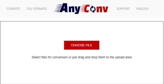 MP3 to WAV Online - anyconv