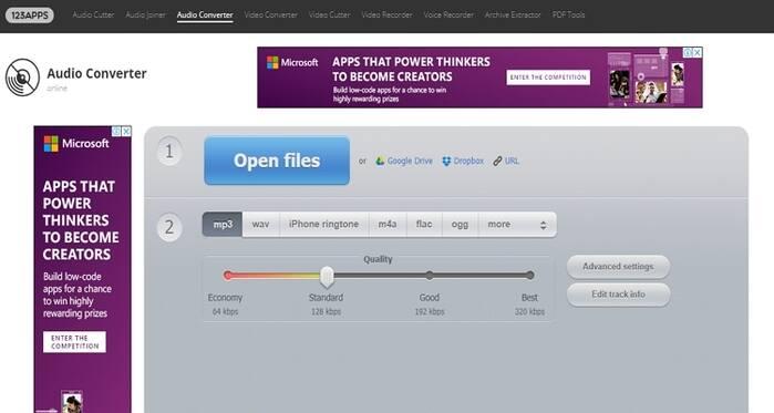 Free Online Convert Com -Online Audio Converter