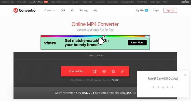 convert mp4 online free -Convertio